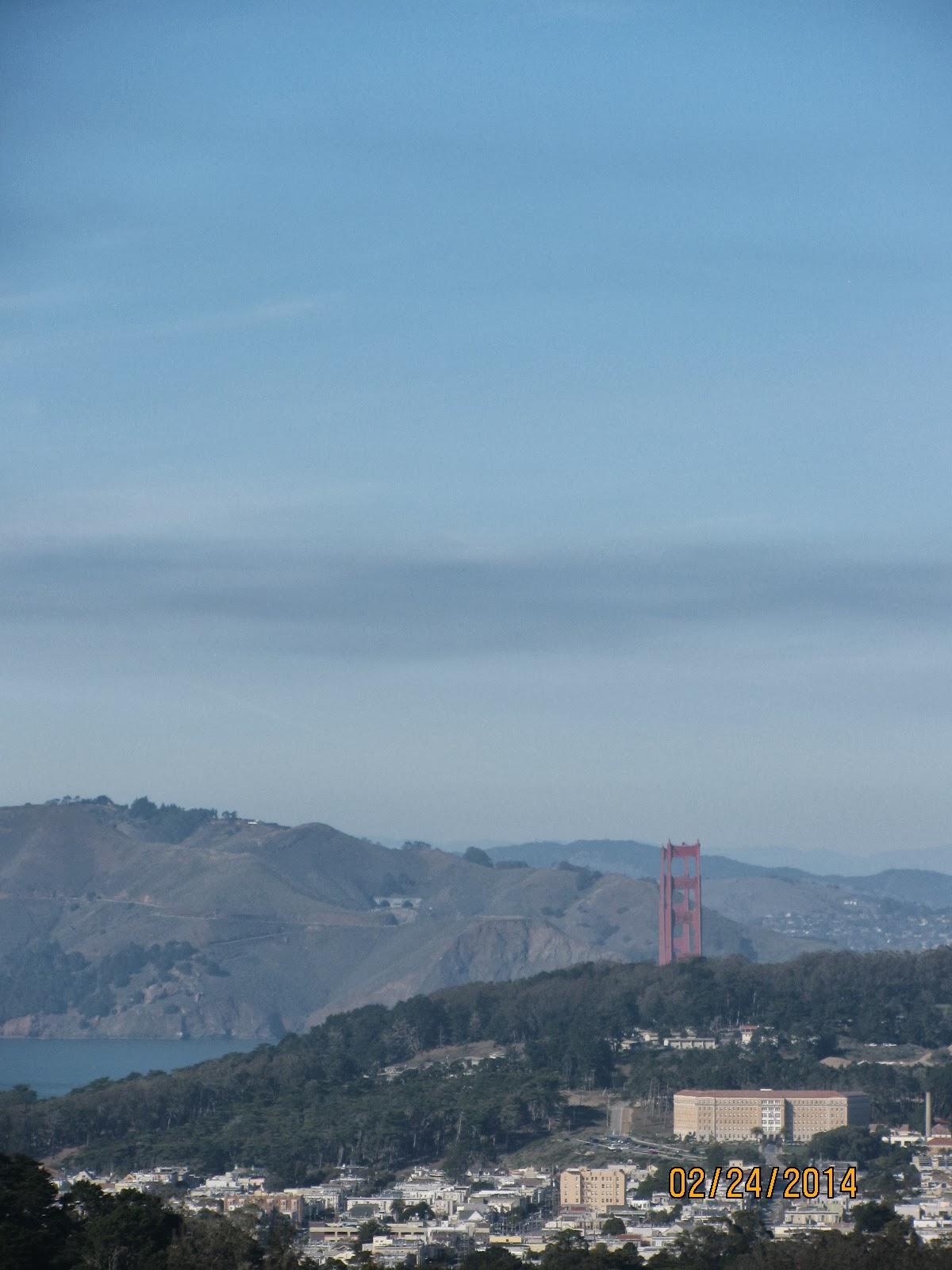 Grand View Park- View of Golden Gate Bridge