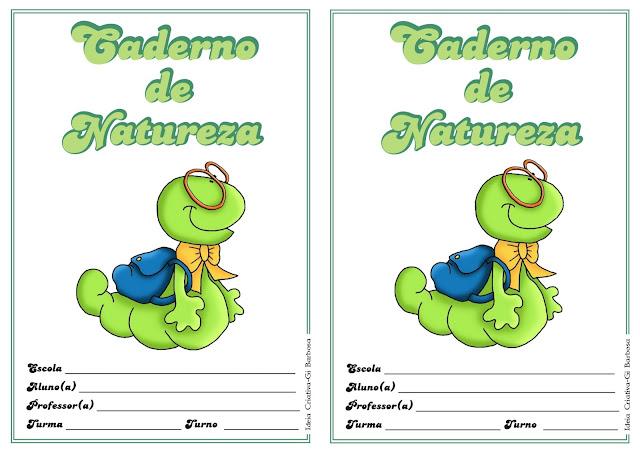 Capas de Caderno com Bichinhos