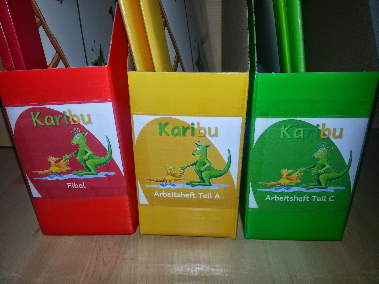 krabbelwiese: Stehordner für Schulbücher