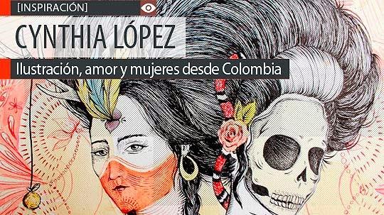 Ilustración, amor y mujeres de CYNTHIA LÓPEZ