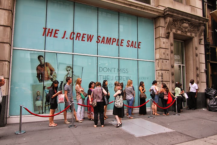 Les Bananas: J Crew Sample Sale NYC - Up to 60% Off