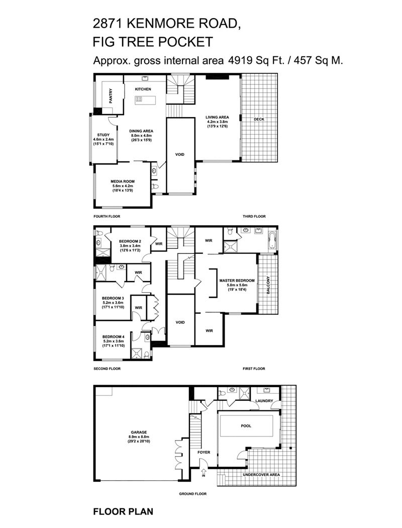 River House Floor Plans and Designs