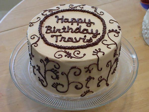 Happy Birthday Travis Cake