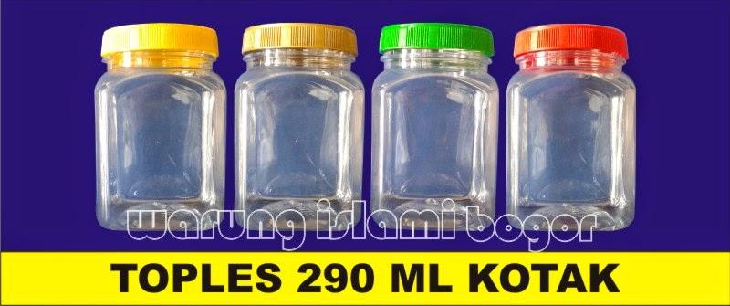 Jual Aneka Botol PET Toples Jar Kotak