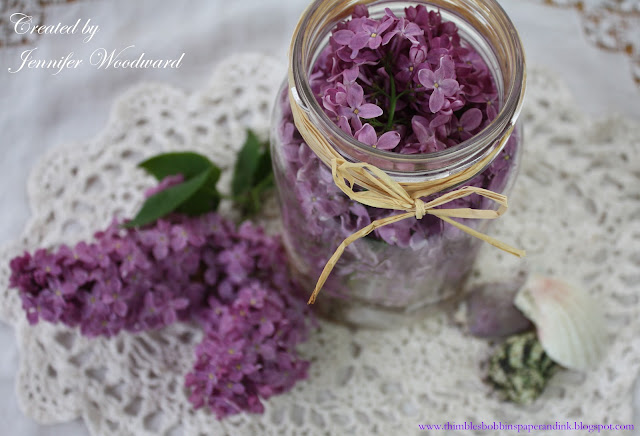 Thimbles bobbins paper and ink lilacs in a mason jar - Ways to make your flowers last longer ...