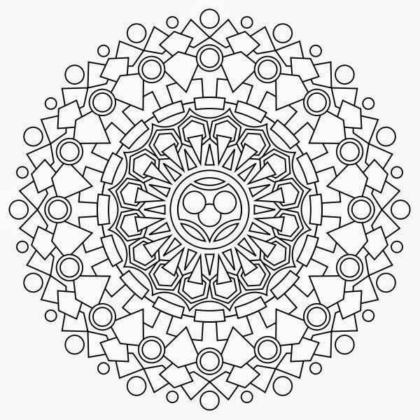 free coloring pages mandalas printable - photo#38