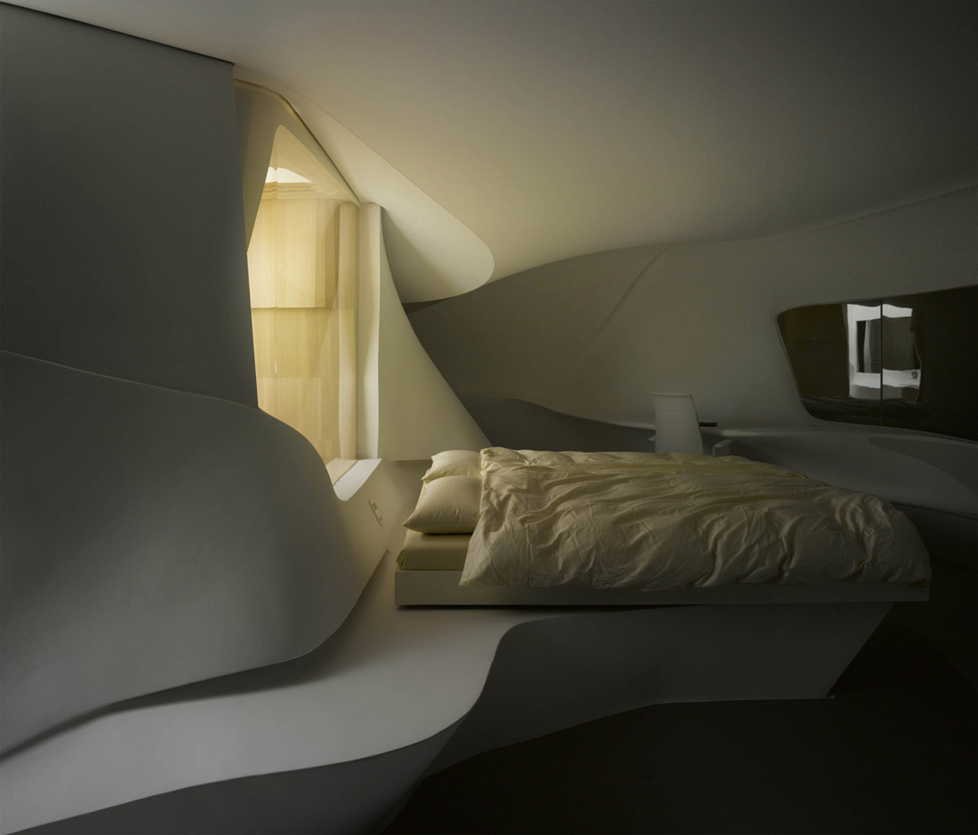 The best hotels in the world future hotel room prototype for New style bedroom bed design