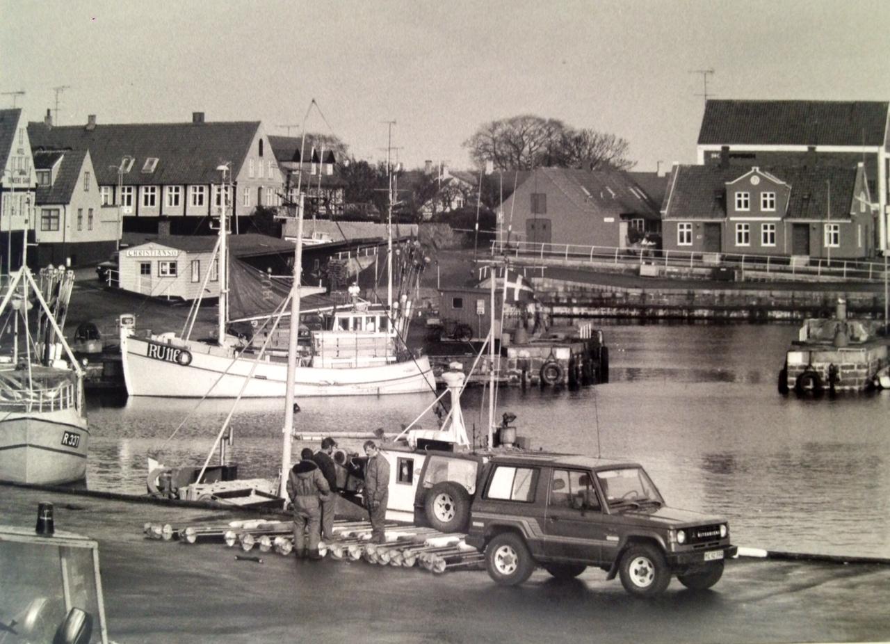 pueblo pesquero de svaneke en bornholm