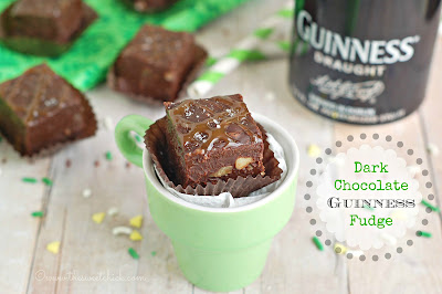 #darkchocolate #guinness #fudge #stpatricksday