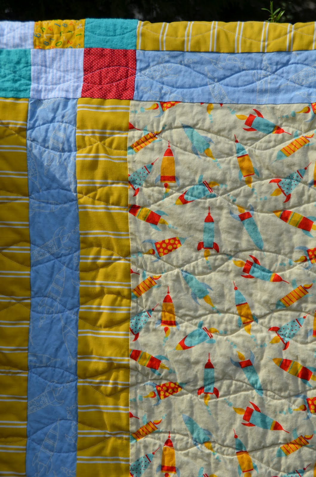 Amazing Mae Sweet Baby Quilt For Baby Boy