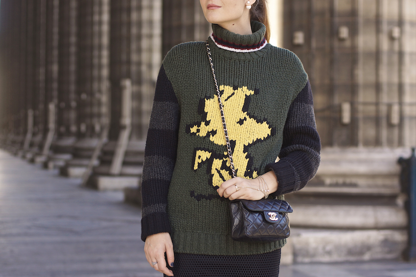woodstock fay sweater fw 2014 2015 street style paris