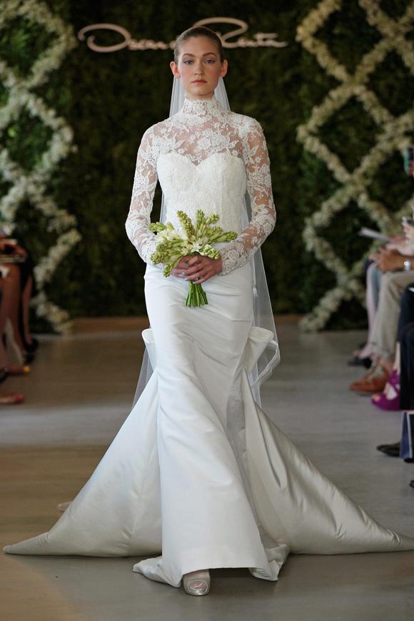 Oscar De La Renta 2013 Bridal Gowns Collection Wedding Decoration