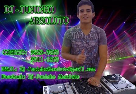 DJ-Juninho Absoluto o DJ que agita a cidade