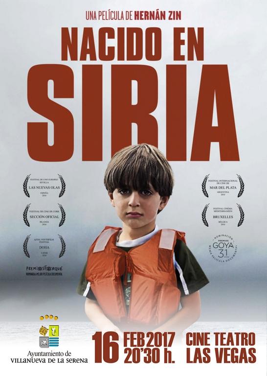 Cine: Nacido en Siria