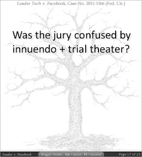 Was the jury confused by innuendo plus trial theater?