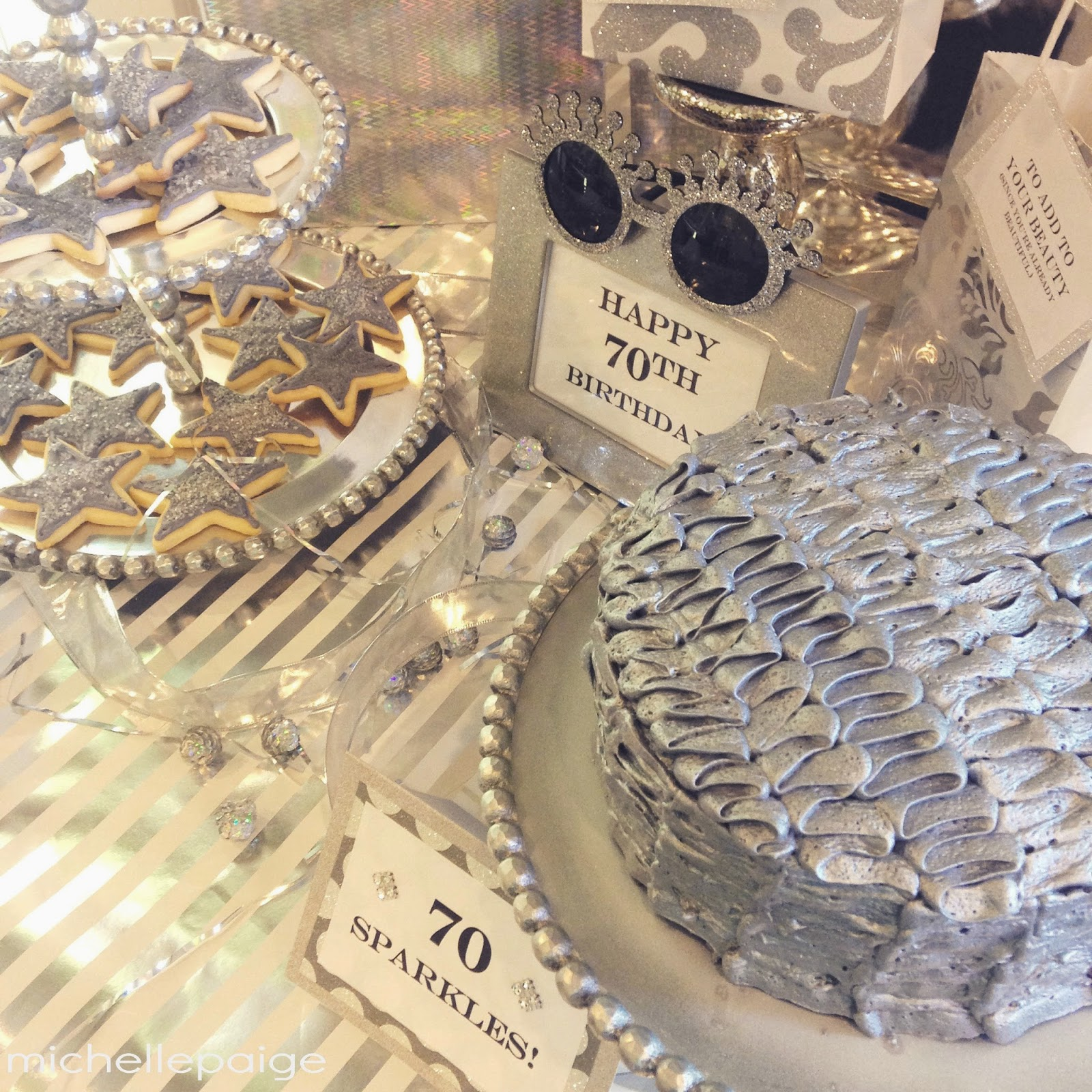 Hosting A 60th Or 70th Birthday Party Ive Got Stunning Theme For You SPARKLING Think Silver Sparkles Shiny Shimmery Etc