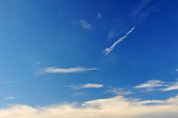 Wolkenpfeil...