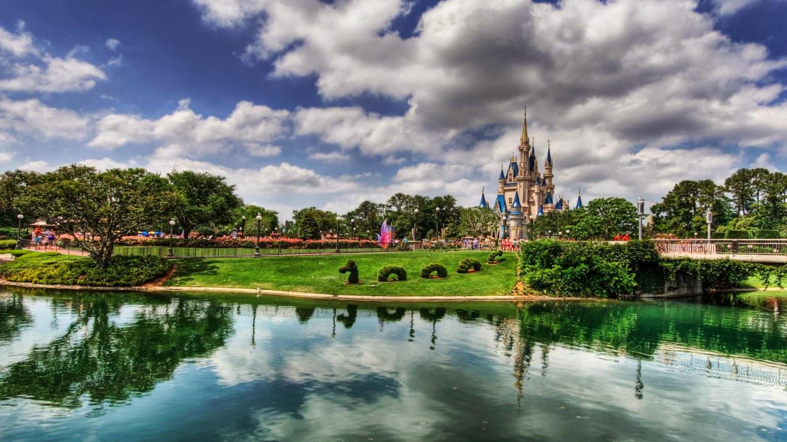 Papel de parede da Disney em Orlando