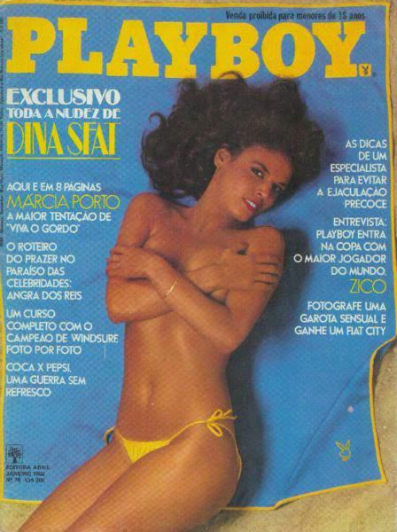 Confira as fotos da musa do Viva o Gordo, Marcia Porto, capa da Playboy de janeiro de 1982!