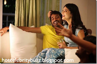 Dhanush dating with Shruti Hassan