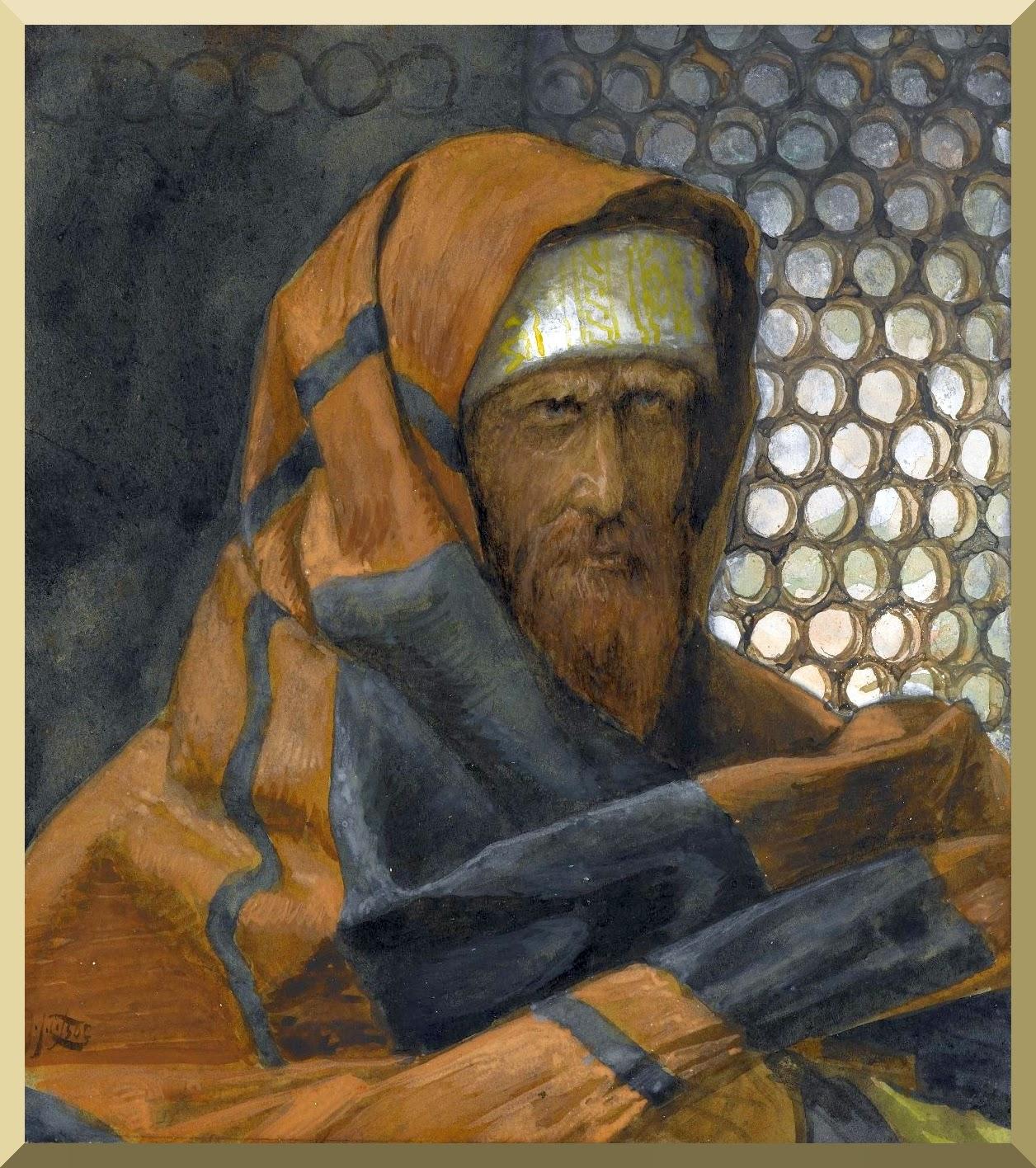 """""""Nicodemus"""" -- by James Tissot"""