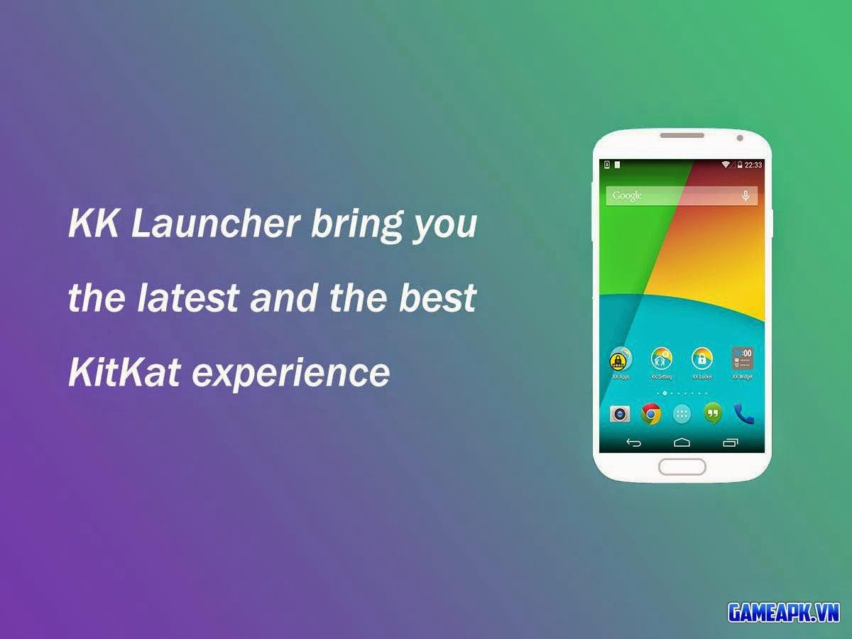 KK Launcher Prime v4.96 Full cho Android