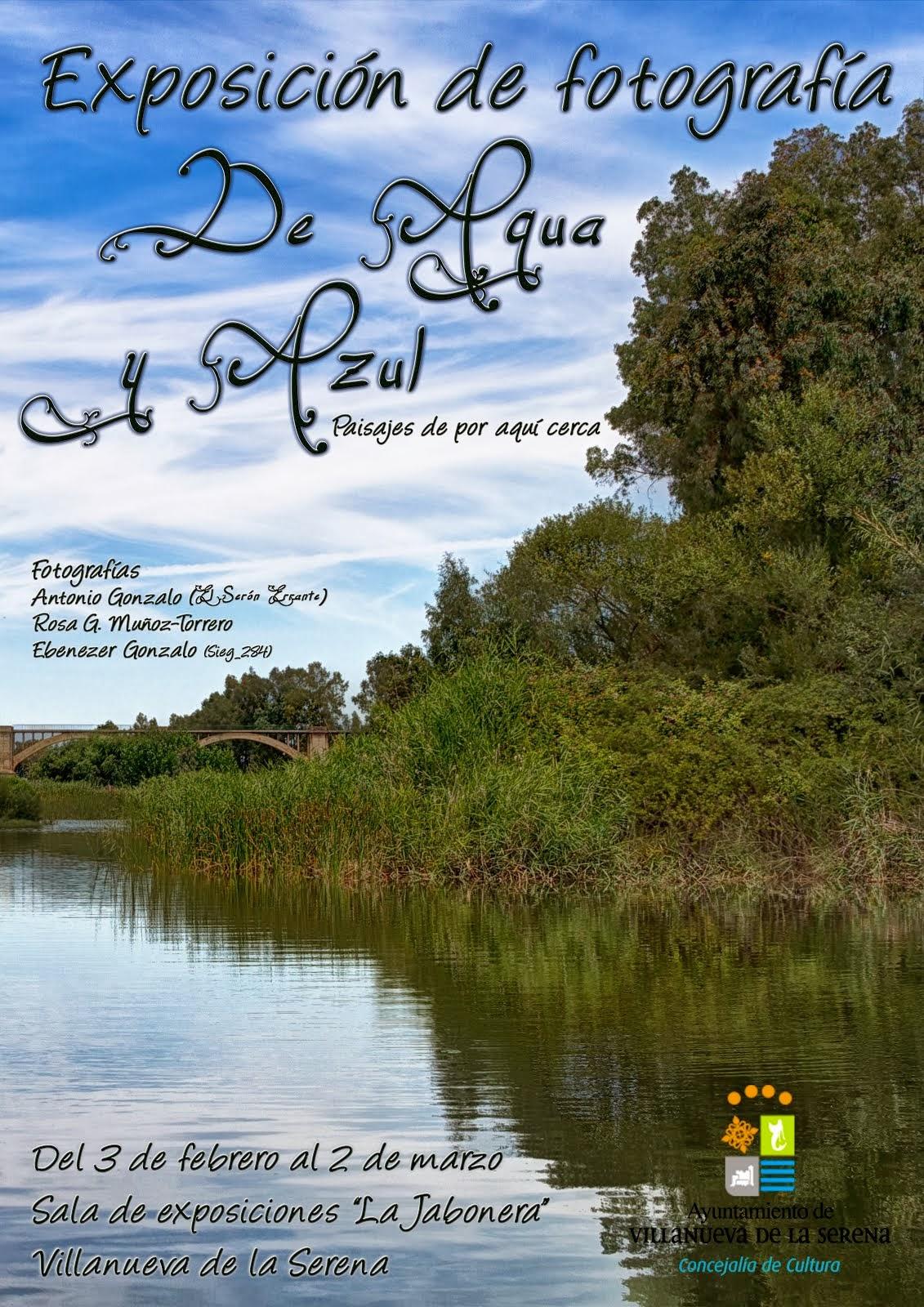 Exposición de Fotografía: De agua y Azul