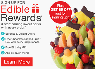 5 Off Free Birthday Gift From Edible Arrangements Rewards Program
