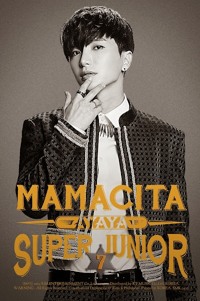 Super Junior Mamacita Leeteuk