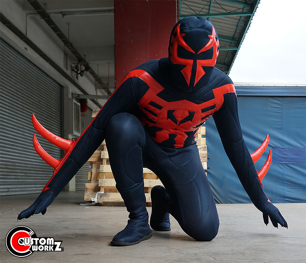 the gallery for gt spider man 2099 costume cosplay