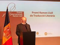 ARTUR GUERRA É DISTINGUIDO COM O PRÉMIO RAMON LLULL DE TRADUÇÃO LITERÁRIA