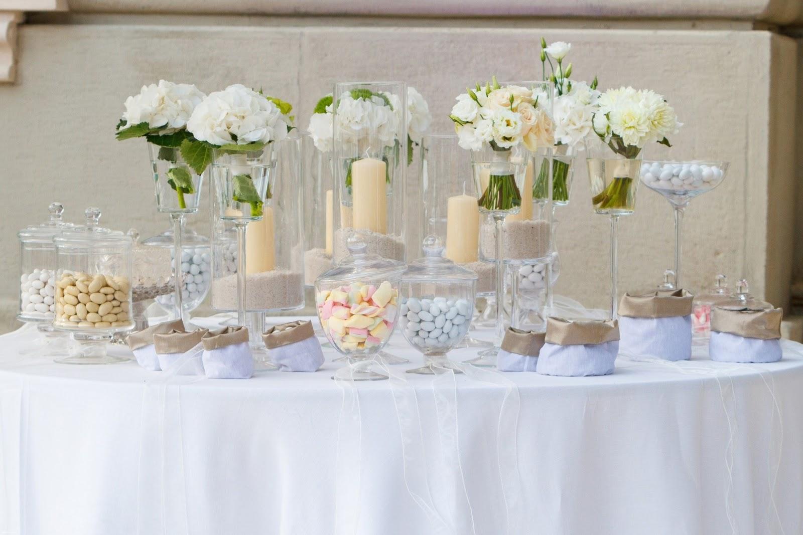 Confettata candy table sweet table perche 39 no for Addobbi per promessa di matrimonio
