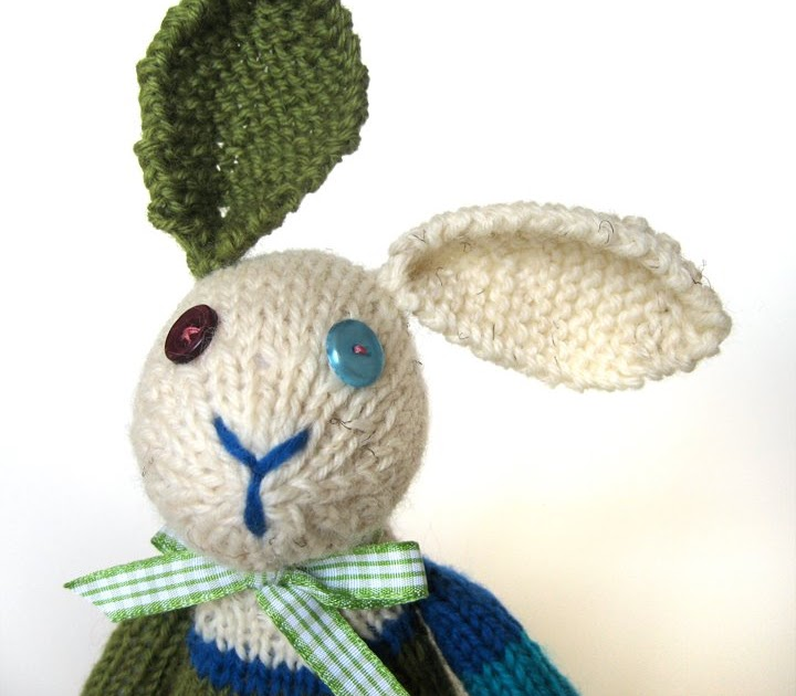 Penguin & Fish: I knit a bunny! pattern by Fuzzy Mitten