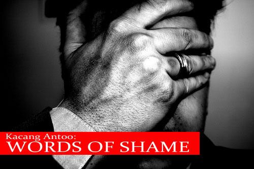Words of Shame