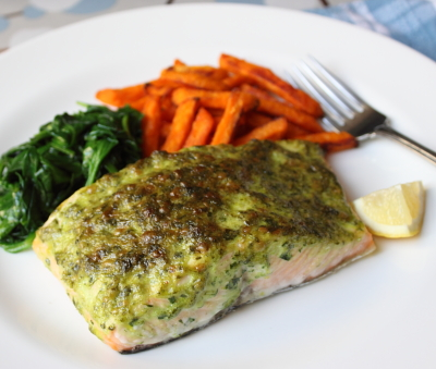 Food Wishes Video Recipes Broiled Herb Crusted Salmon Stop