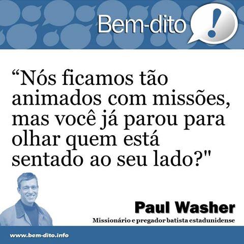 Amado Pr. Paul Washer - Frases Cristãs   Acervo da Teologia Rascunho IB08