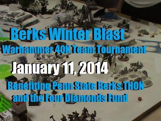 Berks Winter Blast 2014, Warhammer 40K Team Tournament