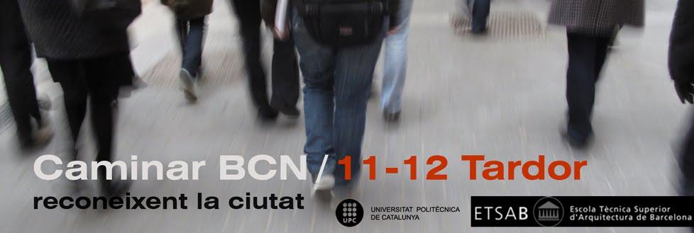 Caminar BCN 2011-12 Tardor