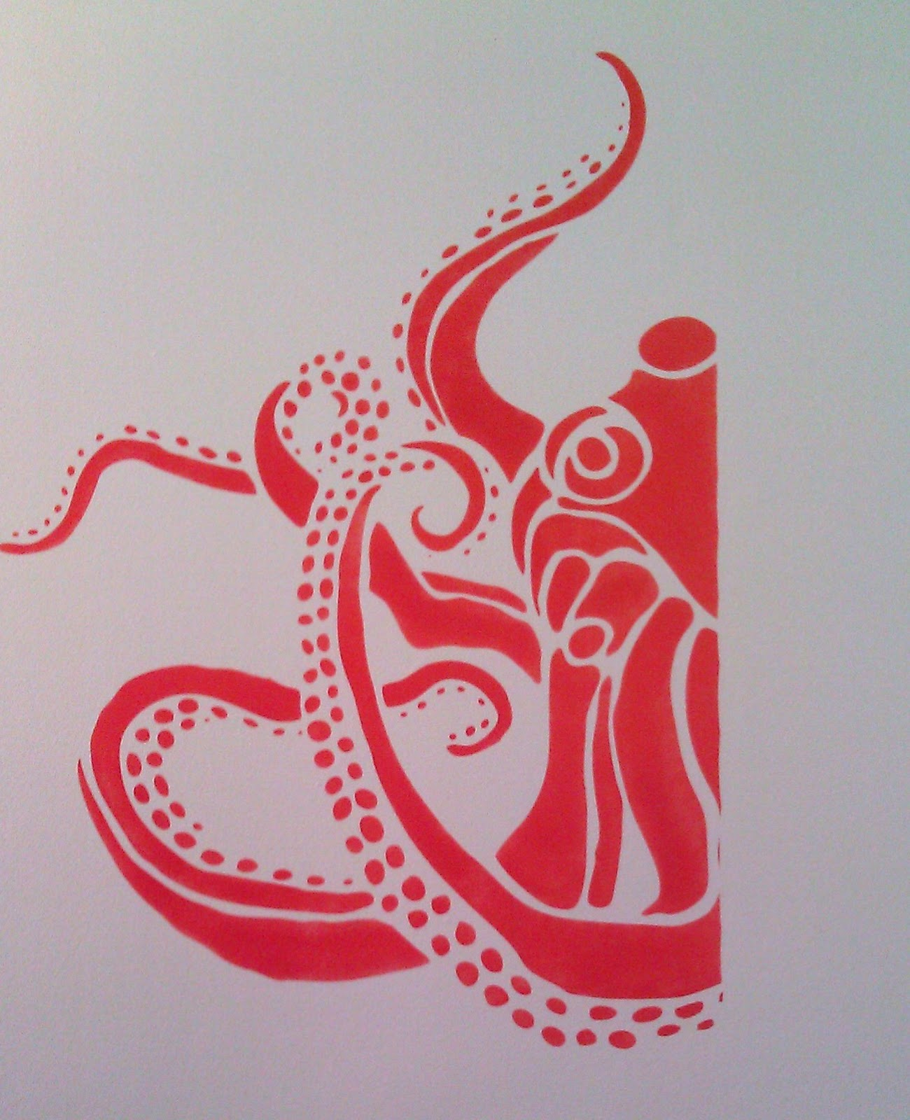 Octopus stencils imgkid the image kid has it