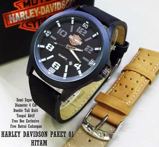 Harley Davidson Paket 01 Hitam