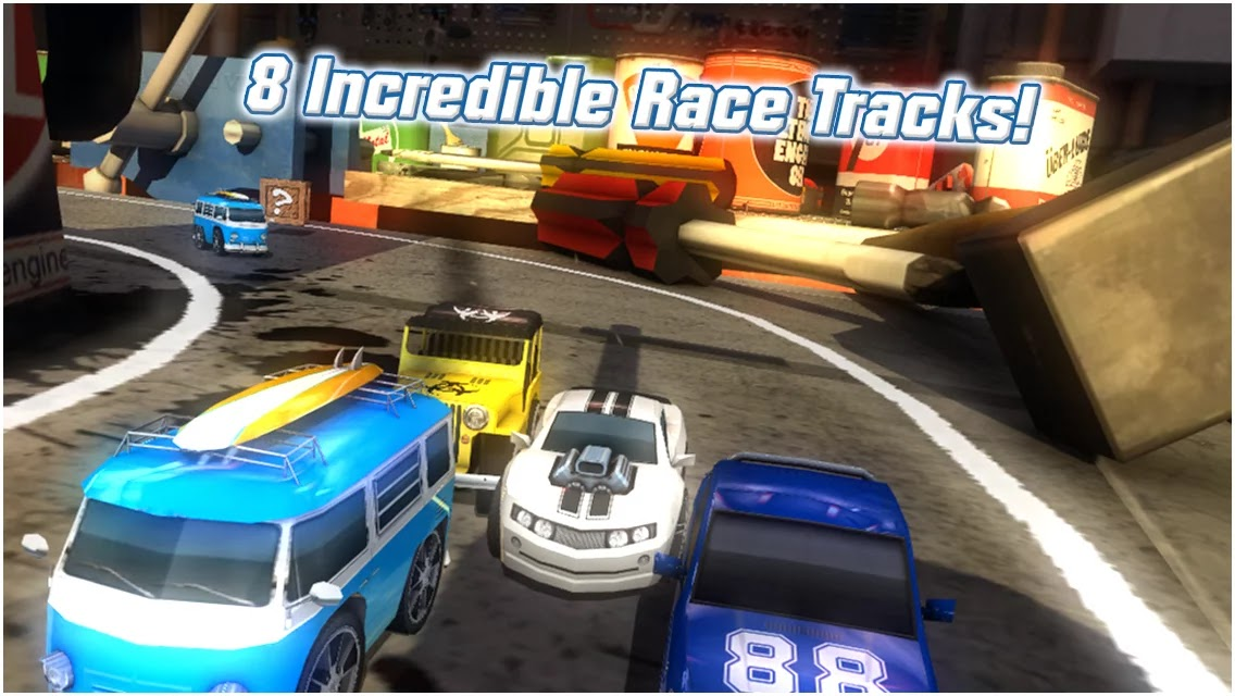 Table Top Racing screenshot1