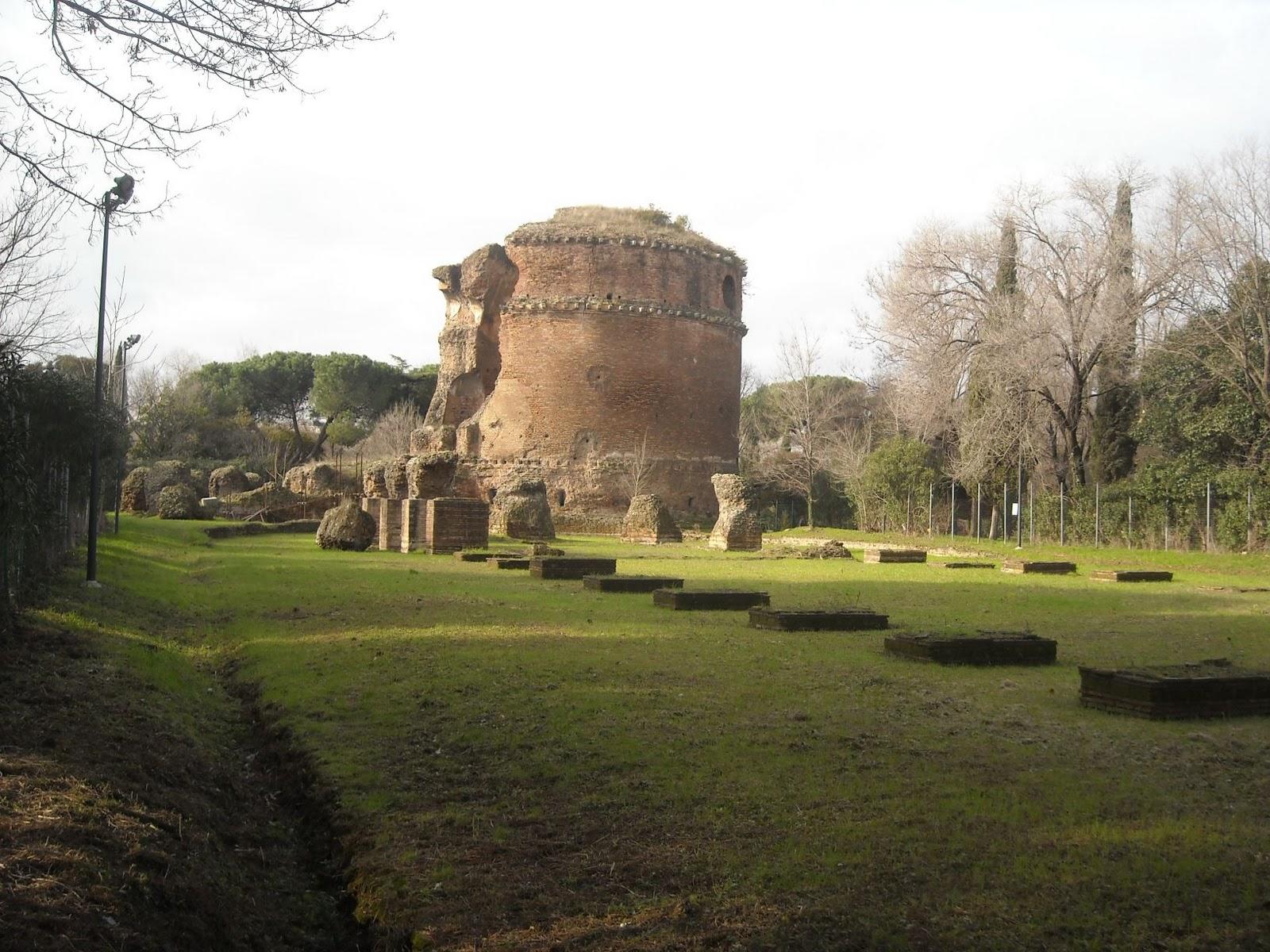 Pillola di OmoGirando: la Villa dei Gordiani Immagine+027