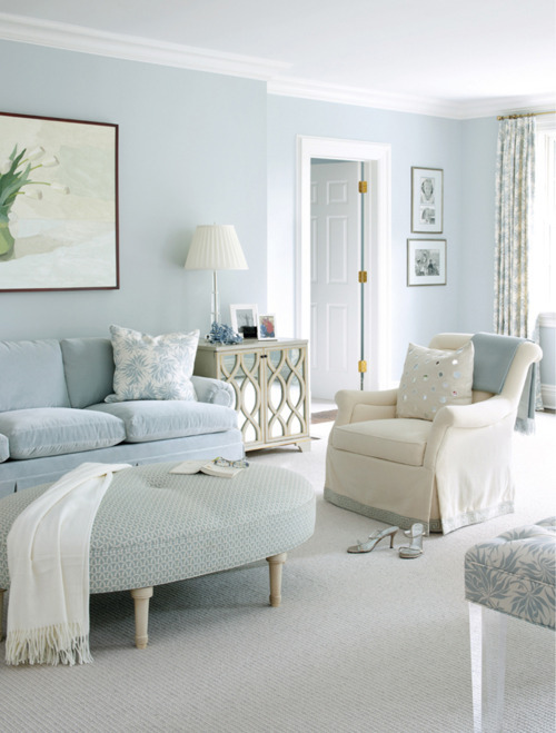 Chic Decorating with Beige and Duck Egg Blue  I Heart Shabby Chic