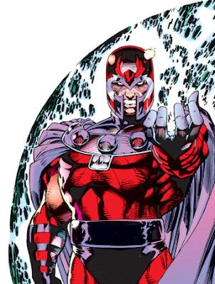 Dibujo de Magneto por Jim Lee