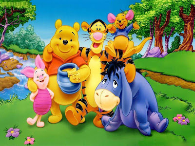 Disney Animated Movie Winnie the Pooh and Friends