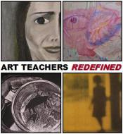 logo for Art Teachers Redefined exhibit