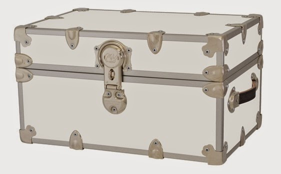 College Trunks  Armored  Space Saver Mini  Trunk