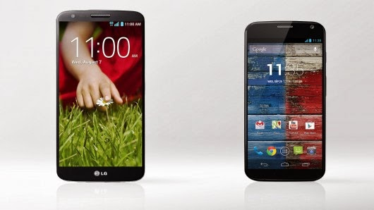 LG G2 and Moto X goes free on AT&T with two-year contract