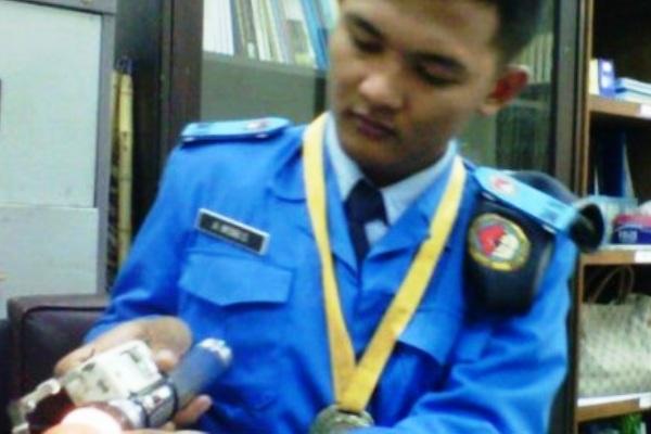 Detektor Telur Busuk Antonius Wisnu. Kotabumi Lampung Utara