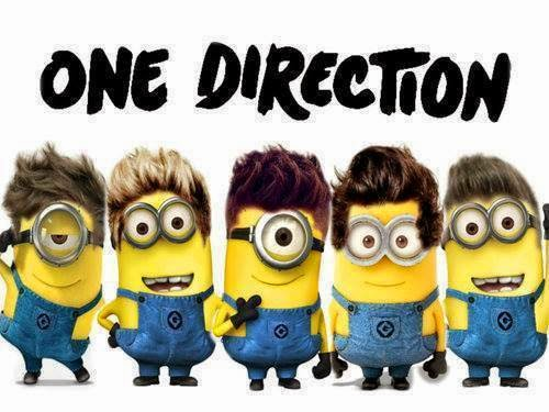 Minion's Banda One Direction